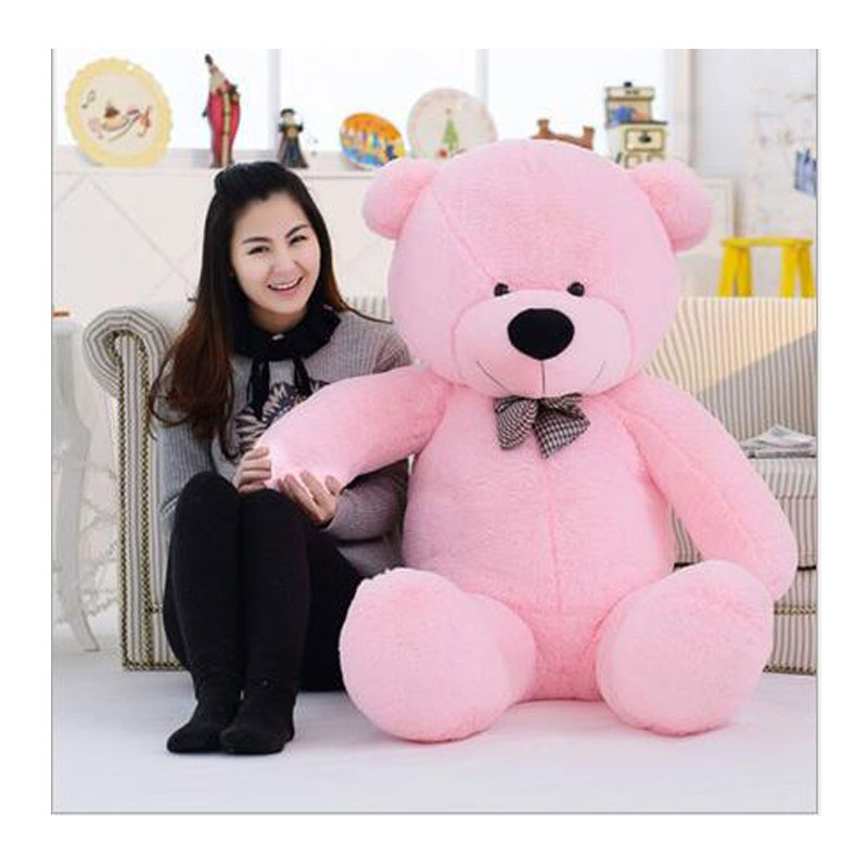 160CM Cute Teddy Bear Plush Toys Stuffed Plush Kids Teddy Bear Toys Big Bear Doll Plush Toy For Baby Birthday Christmas Gift