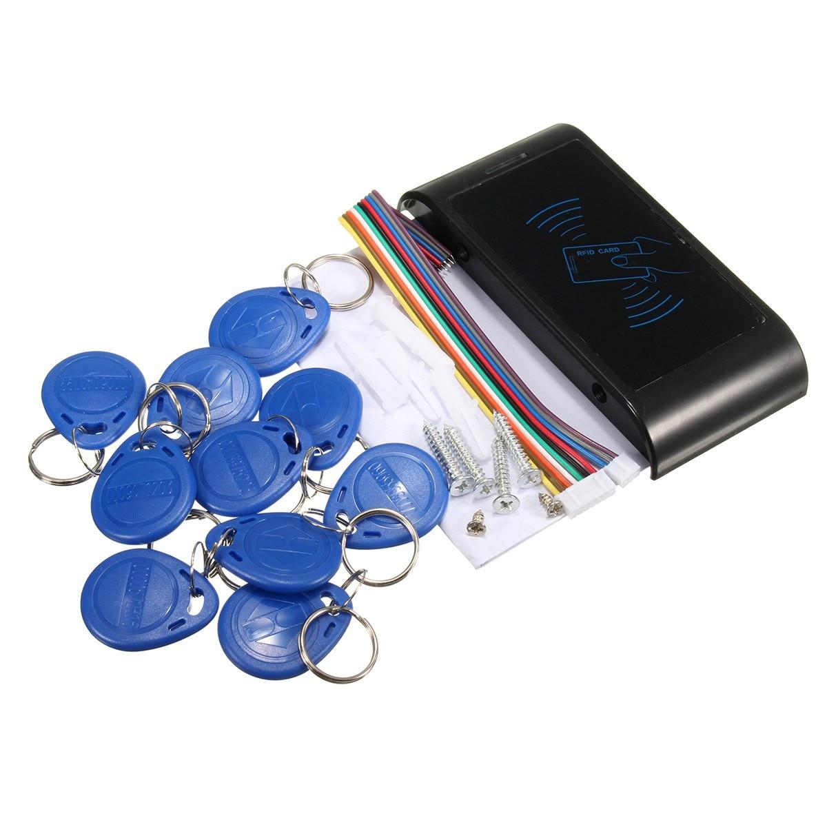 все цены на  Safurance RFID Security Entry Door Reader Card Keypad Mini ID Access Machine Controller Home Security Safety  онлайн