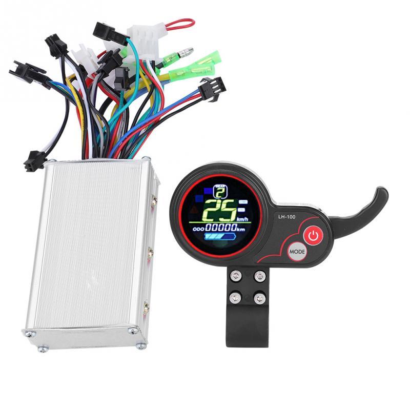 24 V 36 V 48 V 60 V vélo électrique Scooter contrôleur LCD panneau de commande avec commutateur de changement de vitesse accessoires e-bike