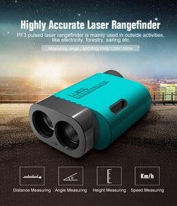 Image 4 - レーザー距離計ゴルフレンジファインダー光学機器 mileseey PF03 600 メートル測定精度 1 メートル