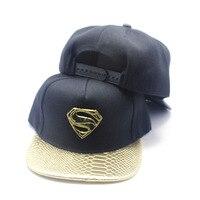 Superman Baseball Caps 2017 Hat Fashion Classic Superman Cap Men Women Sunhat Hip Hop Snapback Hats