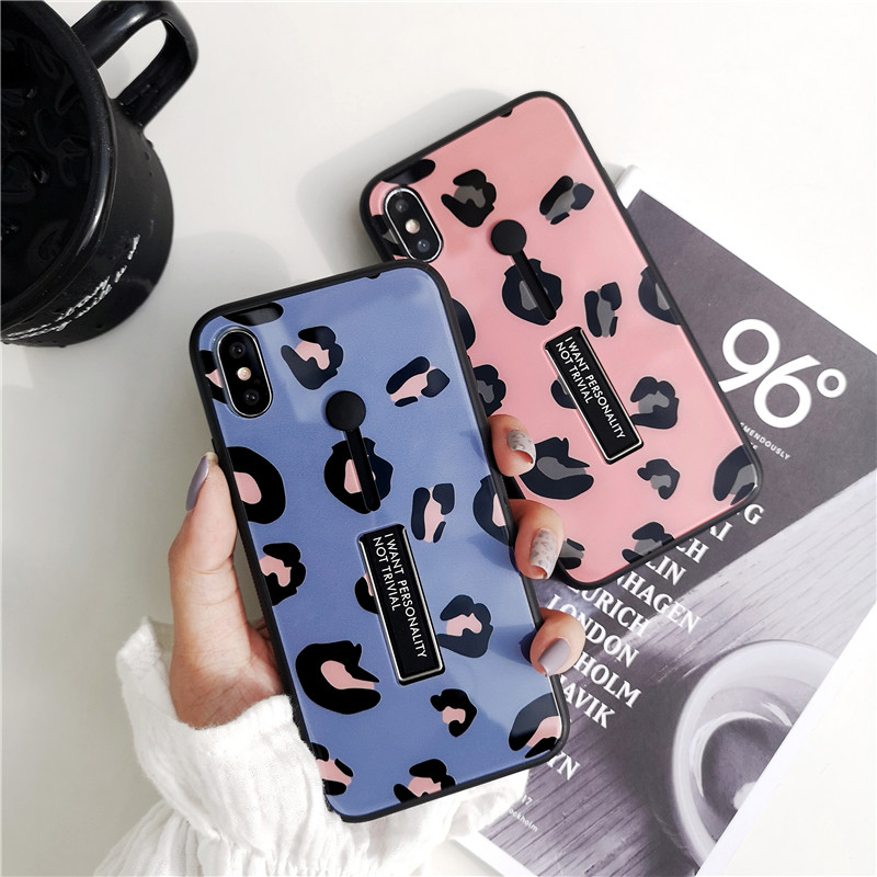 Fashion Leopard Print Phone Cases For iphone XS Max XR X Case For 6s 6 7