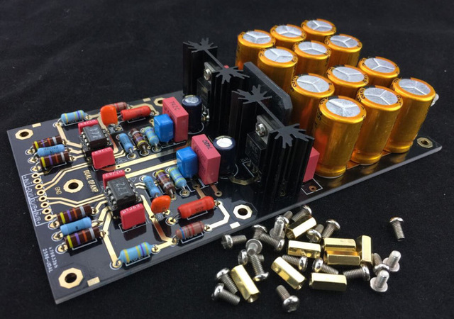 Phono Preamp with OPA2111KP from China - Vinyl Engine