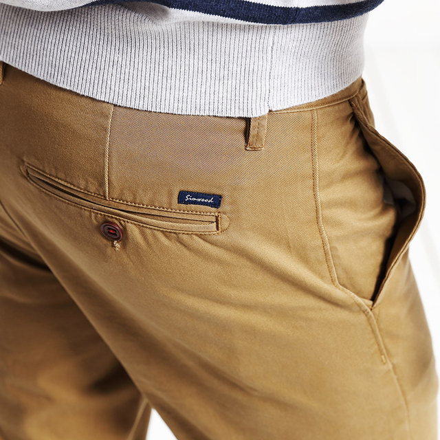 100% Cotton Business Trousers Pant For Mens