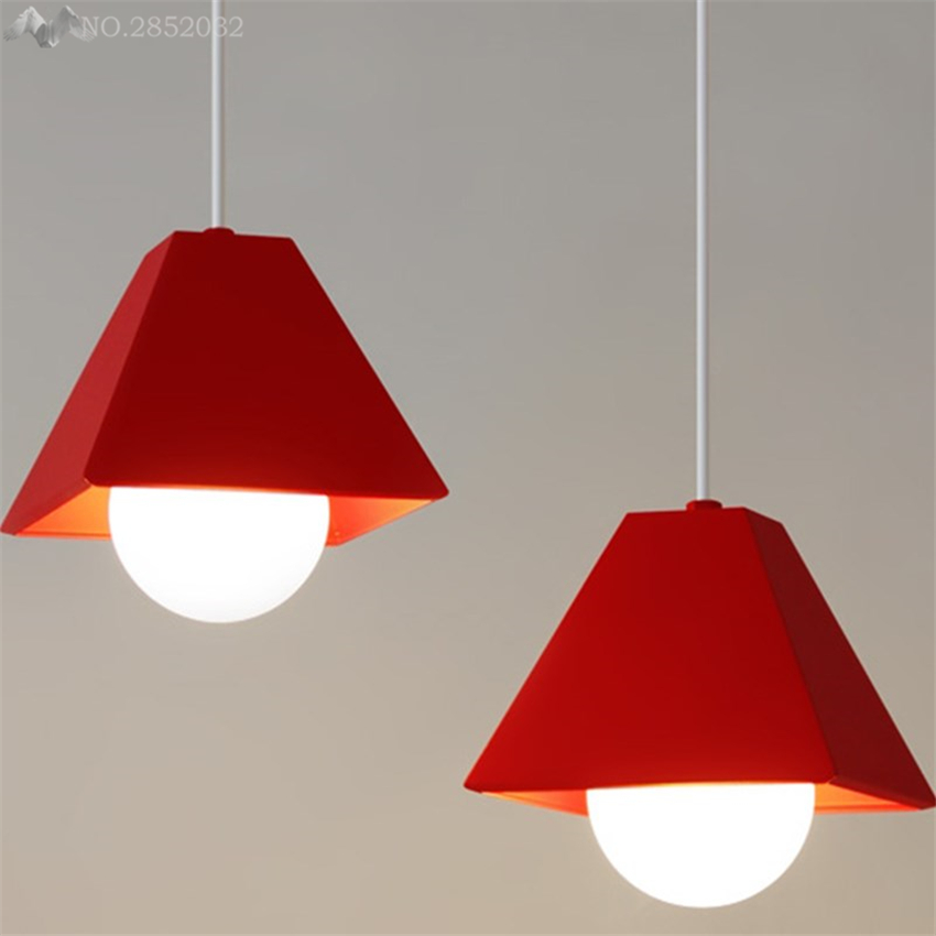 America Modern colorful pendant lamp iron pendant lights for living room bedroom bar restaurant lighting fixtures decoration  America Modern colorful pendant lamp iron pendant lights for living room bedroom bar restaurant lighting fixtures decoration