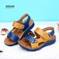 Koovan sandalias de los muchachos 2017 zapatos de los niños del verano de los muchachos niños estudiantes big boys sandalia verano marea zapatillas