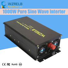 Off Grid Pure Sine Wave Solar Inverter 24V 220V 1000w Car Power Inverter 12V DC to 100V/120V/240V AC Converter Power Supply стоимость
