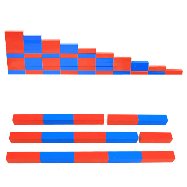 Kids-Toys-Montessori-Red-Long-Sticks-5-50cm-Math-Number-Rods-Wooden-Education-Early-Learning-Blocks