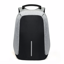 15 inch Laptop Backpack USB Charging Anti Theft Backpack Men Travel Backpack Wat