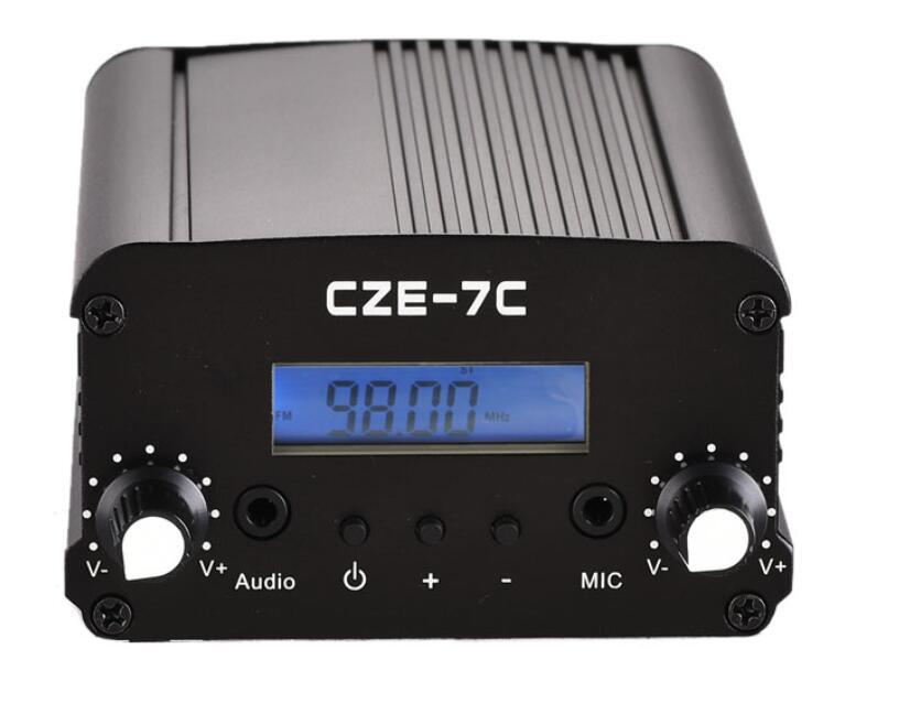 CZH 7C CZE 7C 1 7w FM Radio Transmitter 76 108mhz