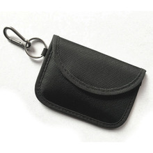 RFID Signal Blocking Anti Theft Faraday Pouch Case For Keyless Entry Car Key Fob