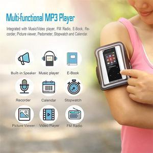 Image 4 - أحدث بلوتوث مشغل موسيقى MP3 ضياع HiFi مشغل MP3 المدمج في مكبر الصوت المحمولة مشغل الصوت سبيكة MP3 مع راديو FM ، مسجل