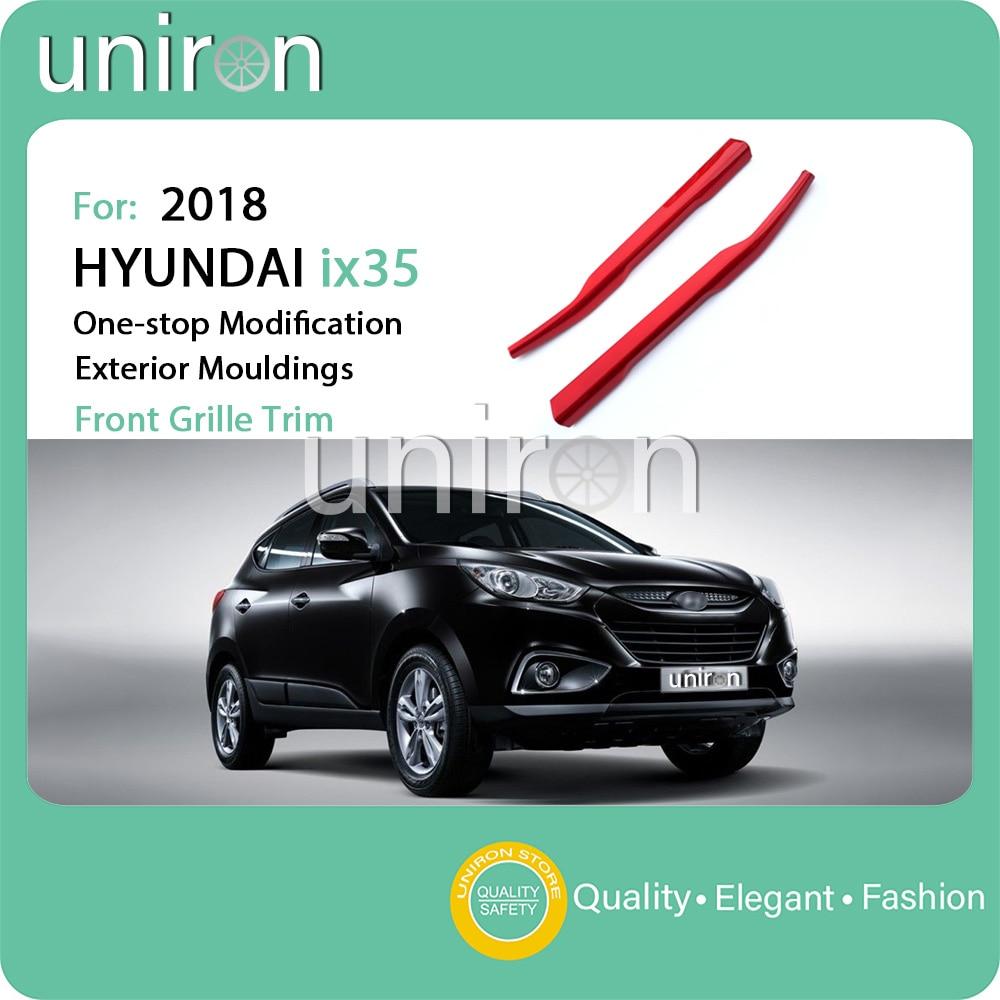 uniron for hyundai ix35 ix35 2018 car exterior middle net. Black Bedroom Furniture Sets. Home Design Ideas