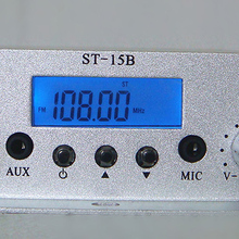 ST-15BV3 Stereo FM Broadcast Transmitter 76--108MHZ 15W
