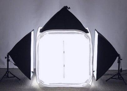 PHOTO TENT TABLE PHOTOGRAPHY SOFT BOX KIT 80x80cm PHOTO TENT SET KIT