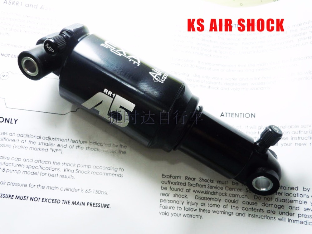 Ks A-TWO/A5-RE/A5-RR1 quality aluminum alloy shock absorption folding bike mountain bike shock absorber forfree shipping motorcycle street bike refires aluminum alloy thickening large shock absorption device beightening 5cm elevator