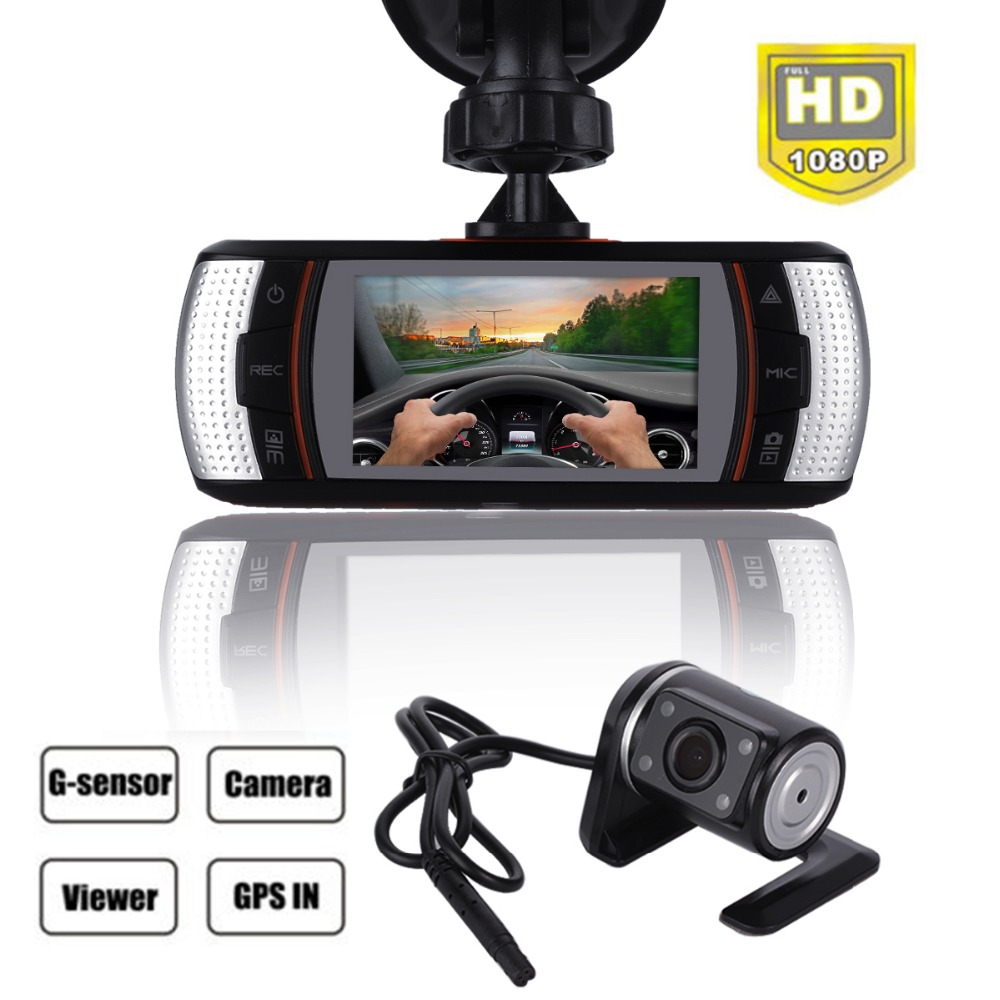 SALE A1 Dual lens Car DVR Camera 2.7'' 150 degree Car DVR Camera Recorder Full HD 1280*720P Rear IR Camer HDMI H.264 G-sensor 2 7 car dvr dual camera full hd 1080p allwinner car camera recorder front 140 rear 120 degree night vision hdmi g30b