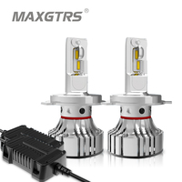 MAXGTRS Car LED Headlight Bulbs H4 H7 H11 H8 9005 HB3 9006 HB4 72w 12000Lm Auto