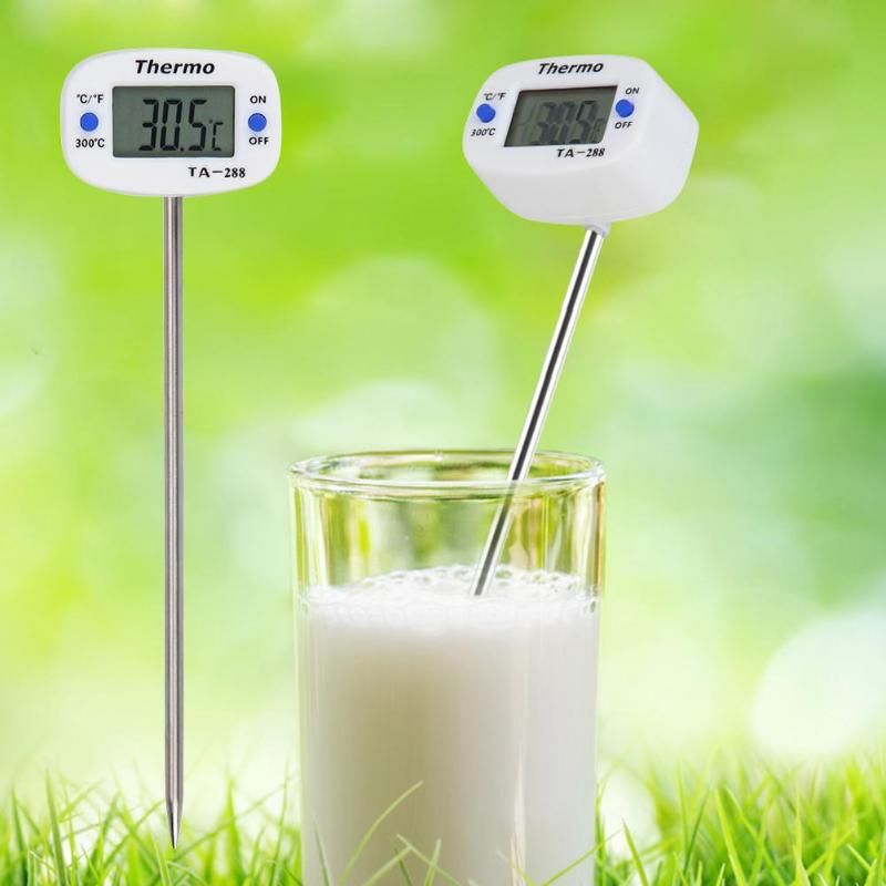Newborn Baby Bath Shower Thermometers Probe For Infant Drinking Milk Probe Temperature Gauge Electronic Digital LCD Display Tool