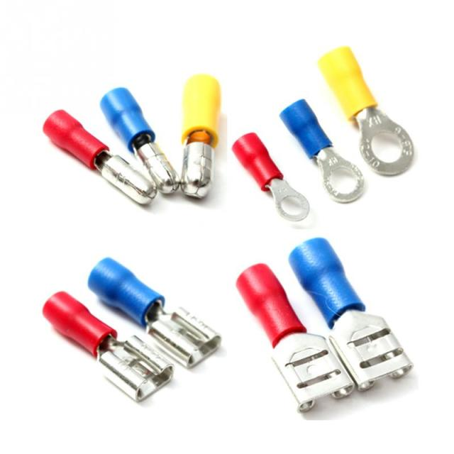 271 pcs assorted insulated electrical wire terminals crimp connector rh aliexpress com wire crimp connectors suppliers use wire crimp connectors