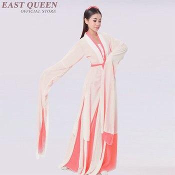 Wholesale Chinese Folk Dance Chinese Fairy Costume Fency Dance Wear National Yangge Clothing Hanfu Stage Dresses FF017 YQ