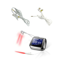 Cold Laser Therapy Physiotherapy Device Otitis Media Allergic Chronic Rhinitis Cure Tinnitus Watch High Blood Pressure