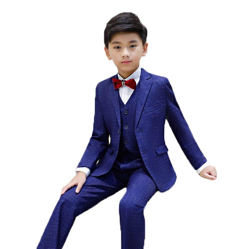 EntrüCkung Jungen Anzüge Für Hochzeiten Kostüm Enfant Garcon Mariage Jungen Blazer Jogging Garcon Kinder Formale Klavier Leistung Anzüge L15