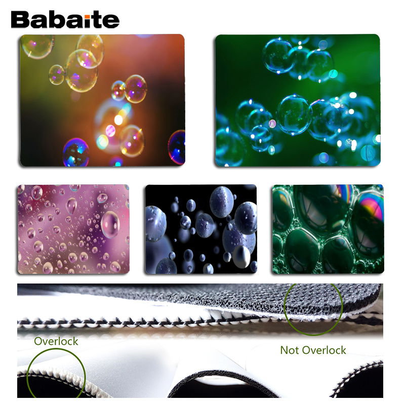 Babaite Cool New Bubble Computer Gaming Mousemats Size for 18x22cm 25x29cm Rubber Mousemats