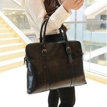 Neue Wemen OL Business Aktentaschen Handtasche Einfache Temperament Pofessional Handtasche Mode Pu-massiv Hohe Kapazität Crossbody Tasche