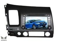 4UI intereface объединены в один система DVD плеер для Honda Civic 2006 2007 2008 2009 2010 2011 Bluetooth Радио gps навигатор карта