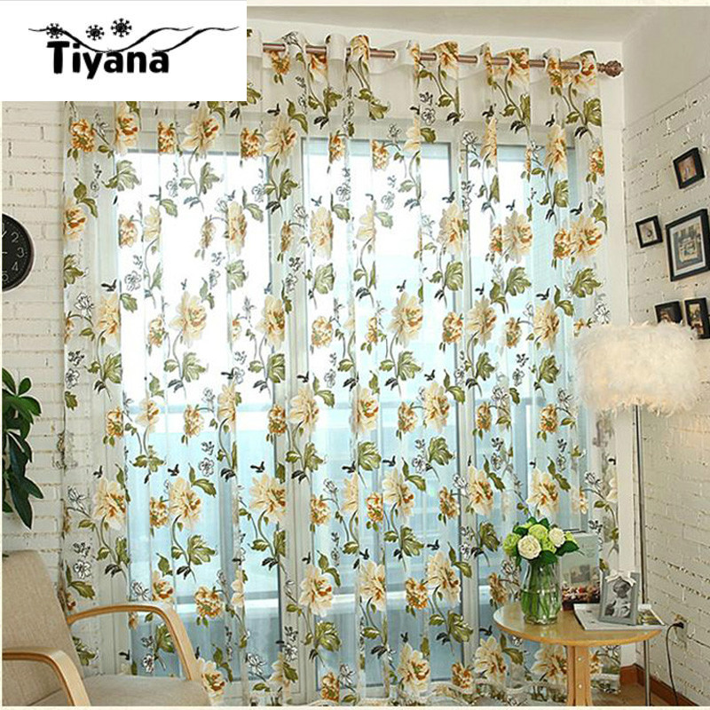 Online Buy Wholesale Purple Kitchen Decor From China: Online Buy Wholesale Yellow Sheer Curtains From China