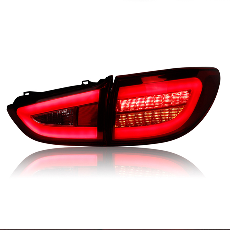 Car Styling TailLight Case For <font><b>Mazda</b></font> <font><b>6</b></font> Atenza Sedan 2014 2015 Taillights <font><b>LED</b></font> <font><b>Tail</b></font> Lamp Rear Lamp DRL+Brake+Park+Signal <font><b>light</b></font> image