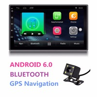 Universal Android Double 2 Din Auto Radio 7 Touch Screen Quad Core 1GB RAM 16GB ROM