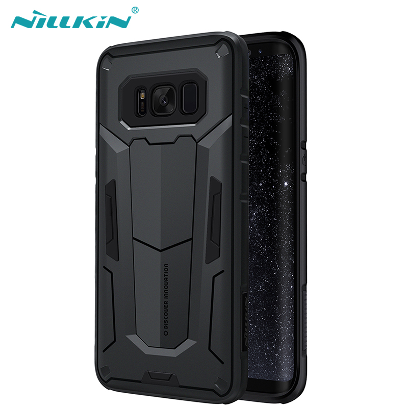 For Samsung Galaxy S8 Plus Nillkin Defender Case Impact Hybrid Armor Hard Protect Cover Strong For Galaxy S8 Phone Cases