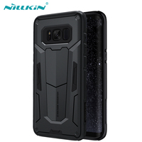 For Samsung Galaxy S8 Plus Nillkin Defender Case Impact Hybrid Armor Hard Protect Cover Strong For