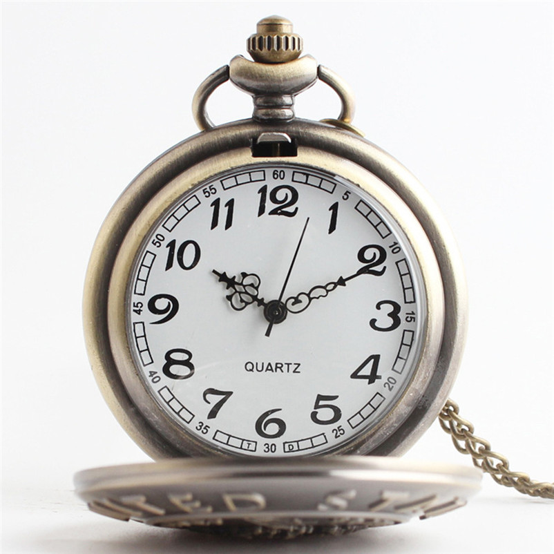 Vintage Chain Retro The Greatest Pocket Watch Necklace For Grandpa Dad Gifts Wholesale r ...