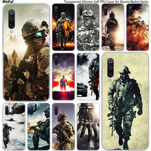 Hot Army soldier Silicone Case For Xiaomi Pocophone
