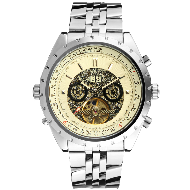 Jargar Automatic Mechanical Watches Men Business Style with Auto Date Mens Watch famous brand jargar automatic watches men casual style men watch free shipping jag8013m3s1