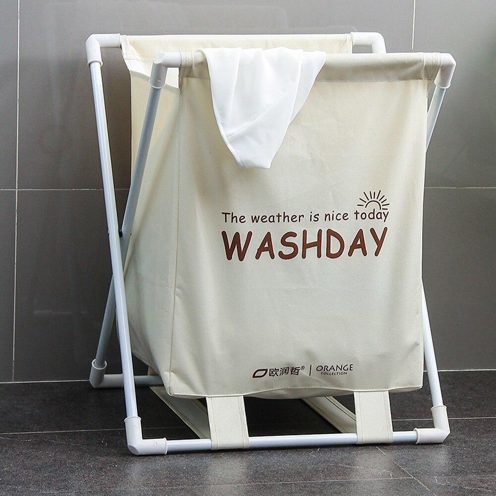 Oxford fabric folding bathroom hamper laundry basket put dirty clothes storage basket clothes finishing basket wx10201404