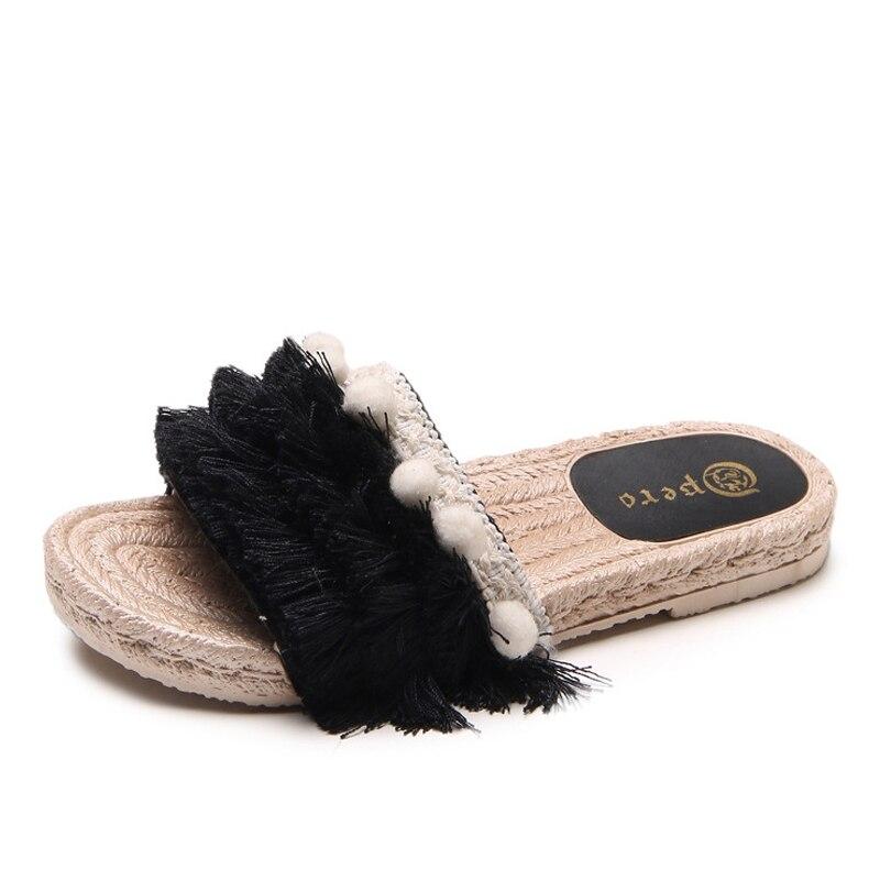 Women Summer Slippers Comfort Outdoor Shoes Women Mesh Slipper Bohemian Flat Slipper Sexy Sandals Shoes woman platform shoes
