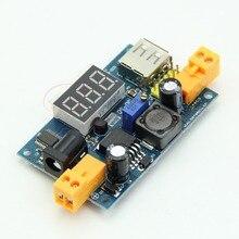 OOTDTY LM2596 DC-DC Регулируемый Step-Down Преобразователь Питания + LED Вольтметр + USB Порт