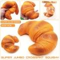Jumbo 19 cm Croissant Blando Super Lento Aumento Juguete Pan Squishies Envío Gratis PS-022 1 unids