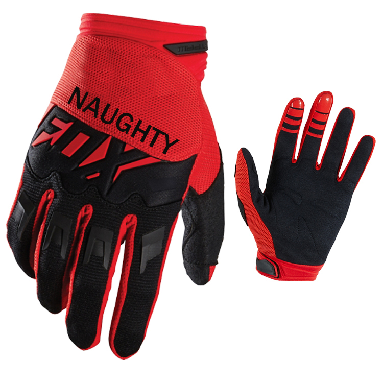 MX Motocross Race Gloves Motorbike Mountain Dirt bike Cycling Sports Outdoors DIRTPAW Red Gloves