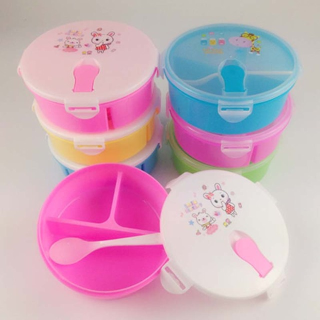 Baby Food Container Memory Storage Box Baby Milk Box Infant Food Supplement Crisper Lunch Snack Tableware New