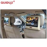 QUIDUX 10,1 дюймов HD Авто подголовник автомобиля DVD плеер подголовник TFT ЖК дисплей экран RCA мониторы Аудио Видео Encosto de Cabeca com DVD