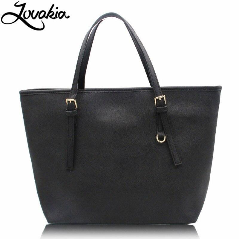 Lovakia большой емкости роскошные сумки Майкл же стиль женщин сумки дизайнер известный бренд женские кожаные сумки Сак основной