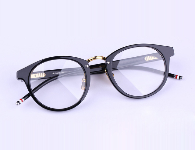 c04b915be0d 2016 New York Brand Eyeglasses Frames glasses men and women THOM TB008  Fashion Glasses Computer Optical Frame With Box