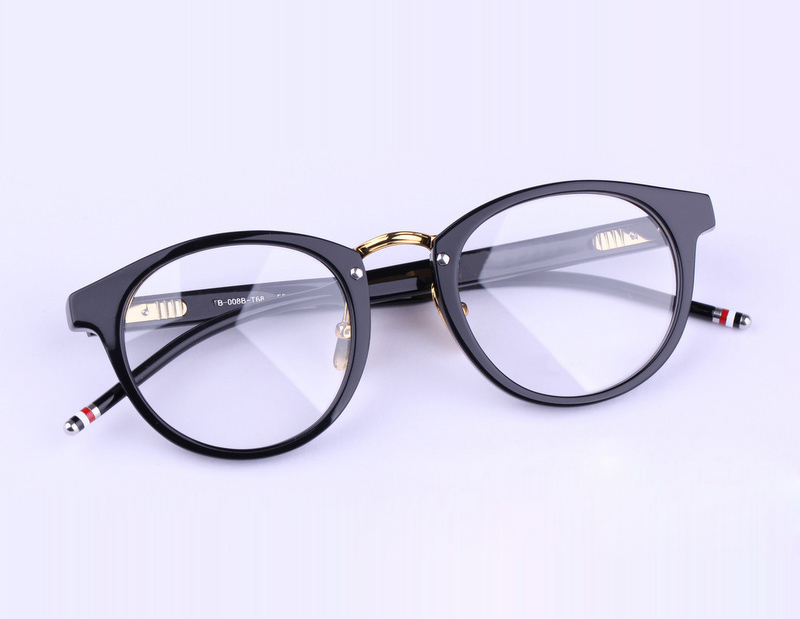 2016 New York Brand Eyeglasses Frames glasses men and women THOM TB008 Fashion Glasses Computer Optical Frame With Box image