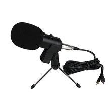 Profesional USB de la Computadora Micrófono de Estudio de Grabación Del Condensador Del Micrófono condensador microfone microfono mikrofon w/Soporte