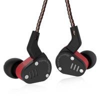 New KZ ZSA Earphone Armature And Dynamic Hybrid In Ear HIFI Bass DJ Sport Monitor Headset